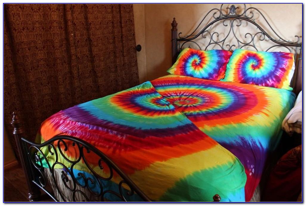 Tie Dye Bed Sheets Diy