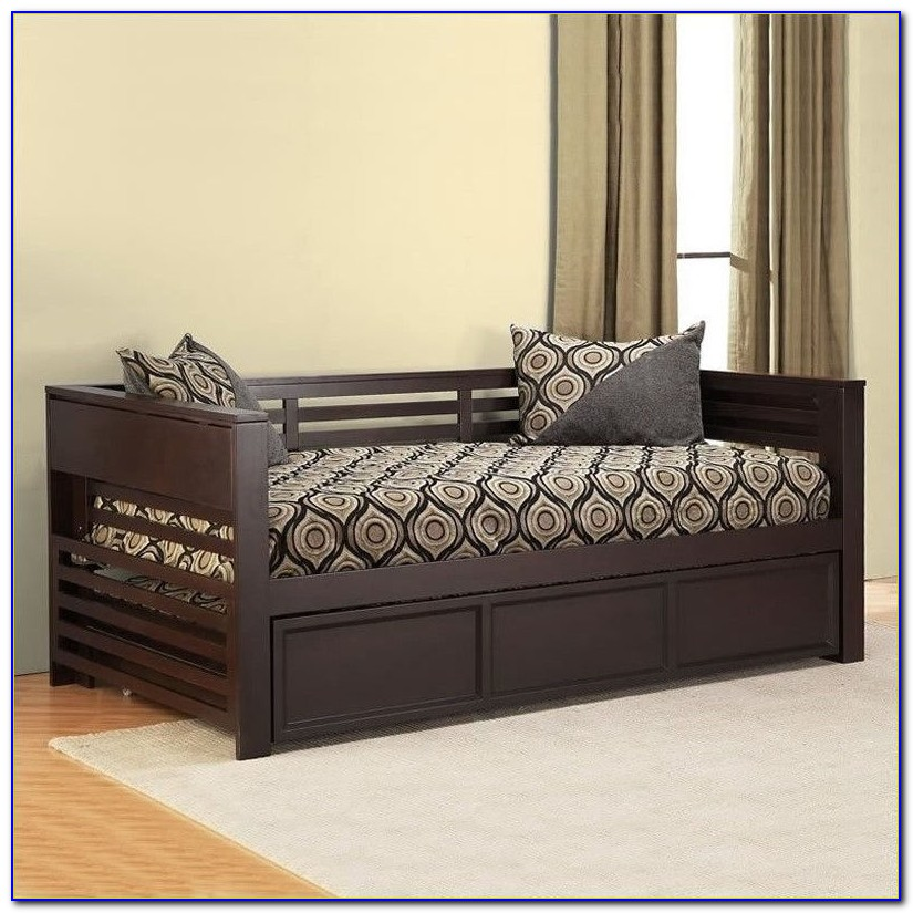 Trundle Daybed With Storage