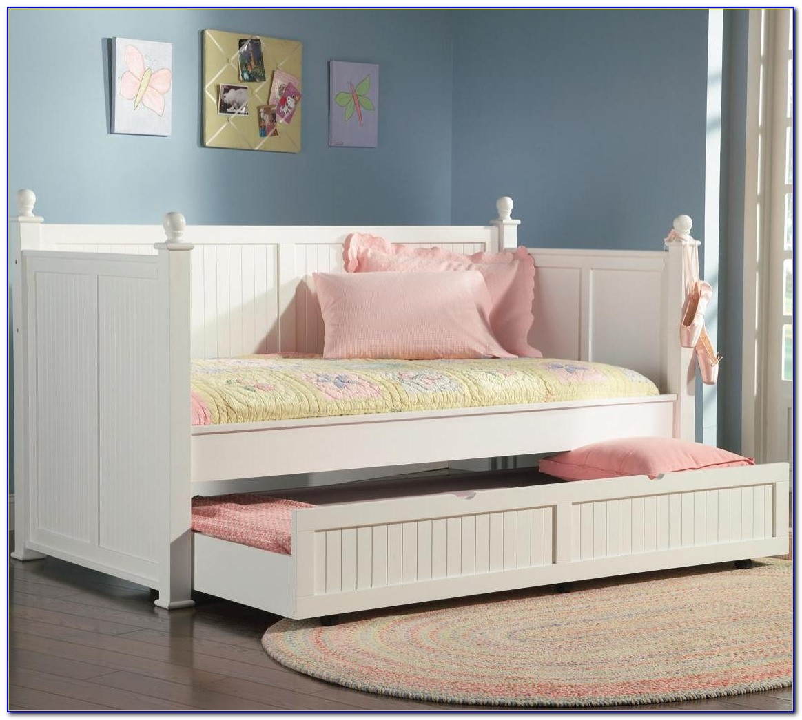 Trundle Daybed Wood