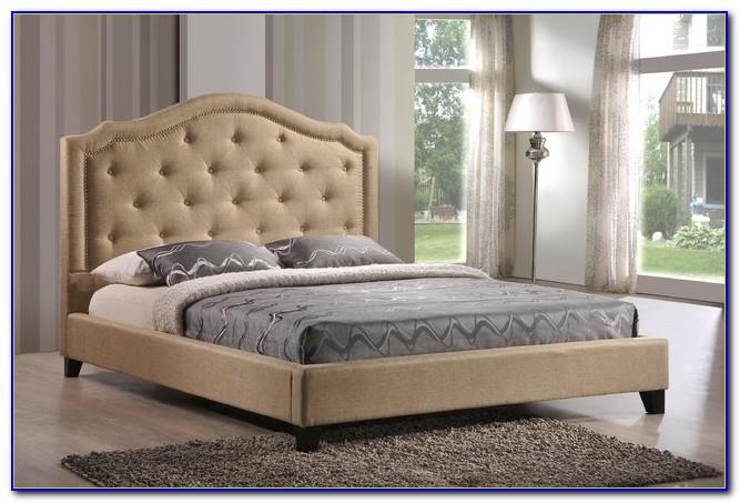 Tufted Platform Bed Overstock