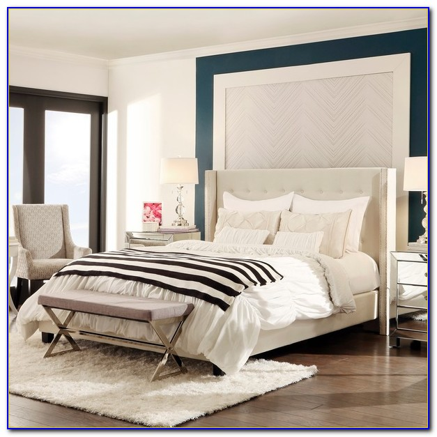 Tufted Wingback Bed Canada