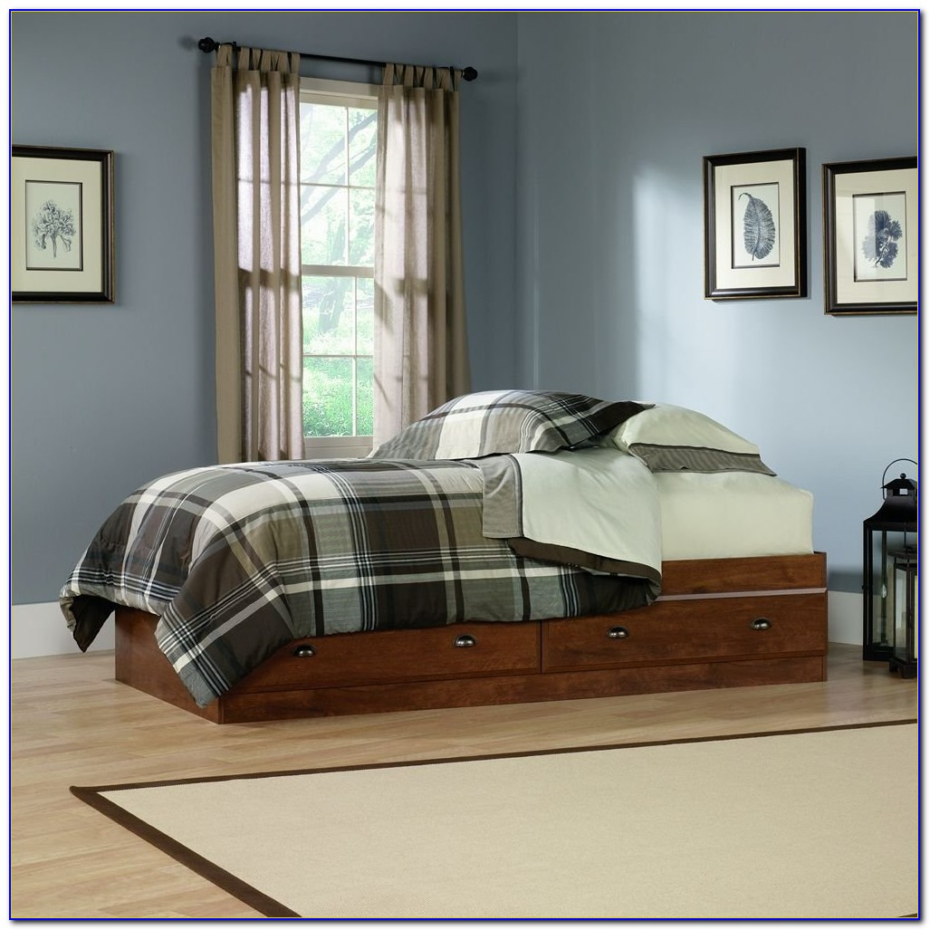 Twin Bed With 6 Drawers Underneath