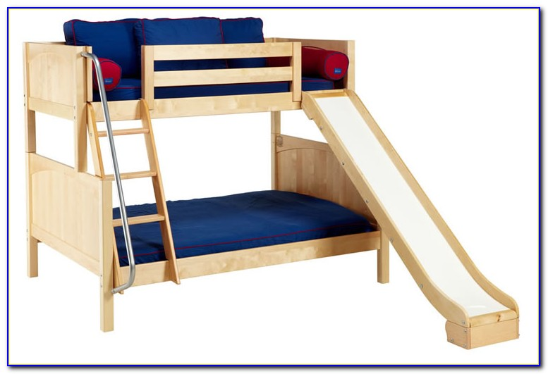 Twin Loft Bed With Slide Boy