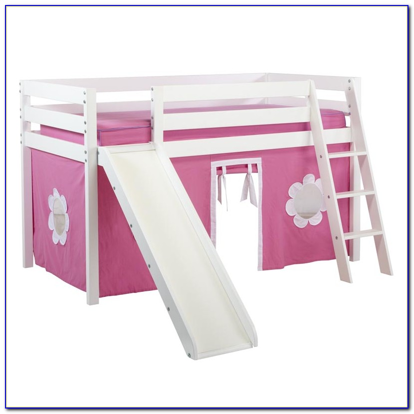 Twin Loft Bed With Slide Canada