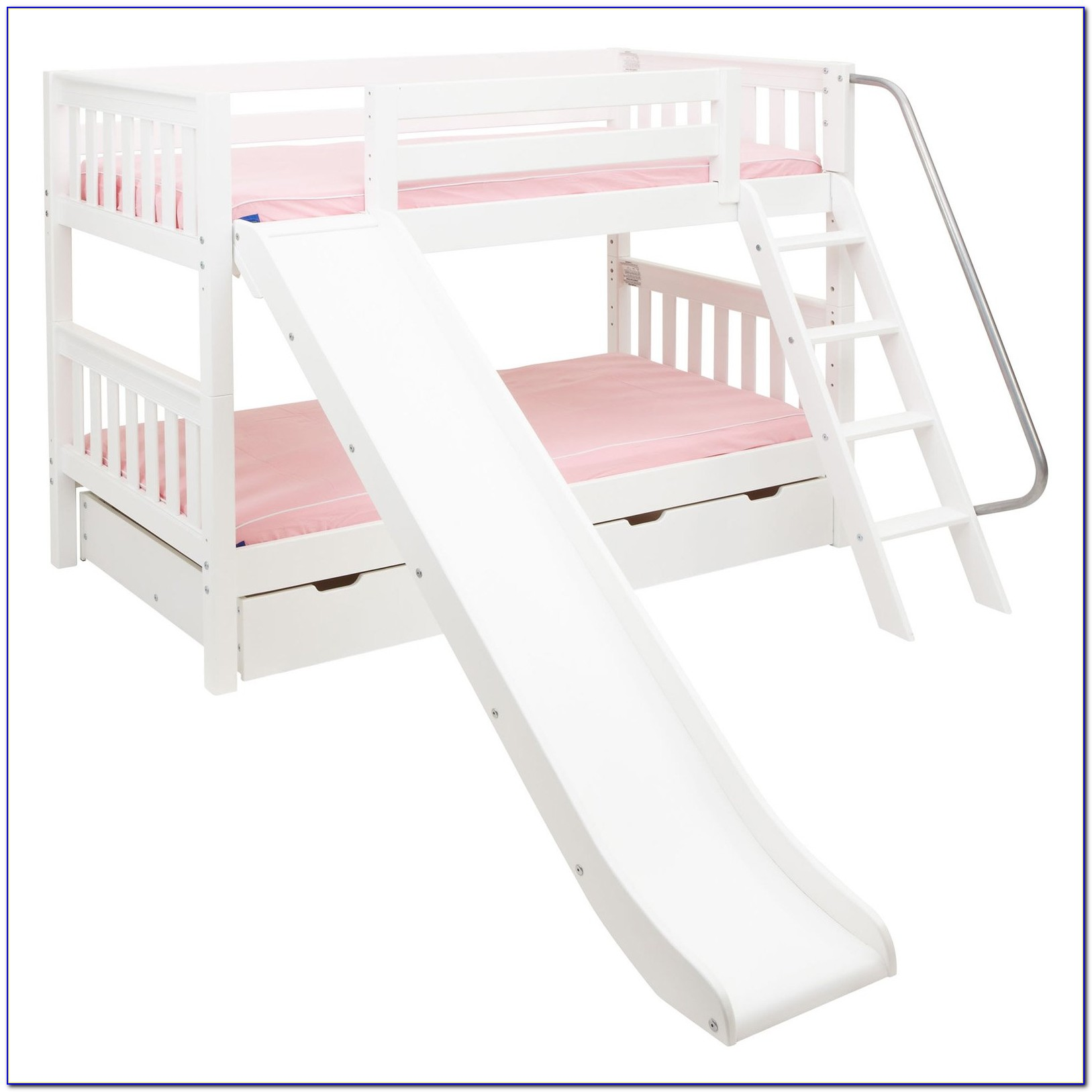 Twin Loft Bed With Slide Out Desk