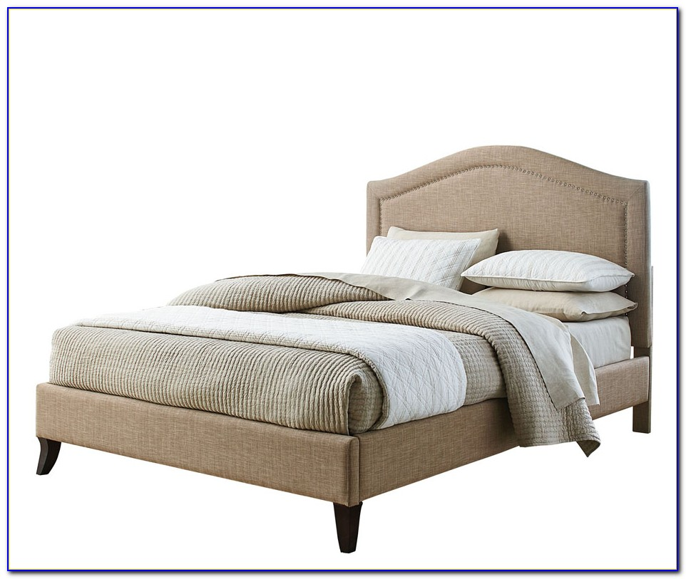 Upholstered Platform Bed King