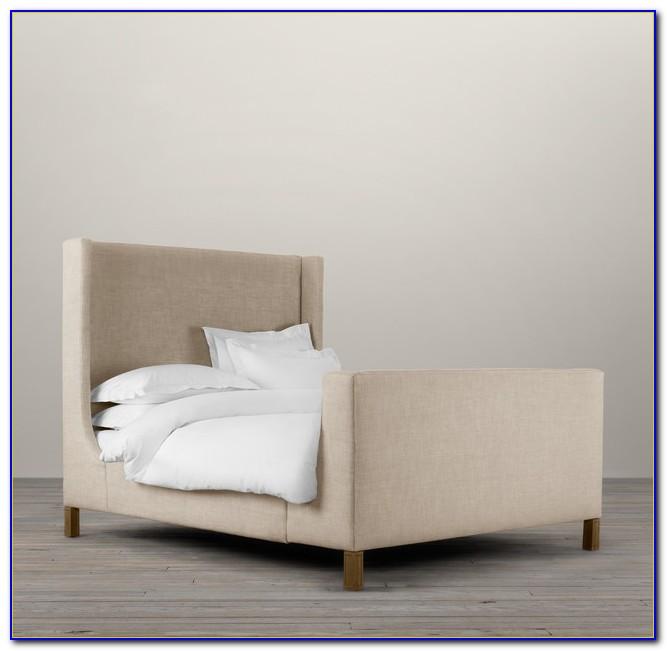 Upholstered Platform Bed No Headboard