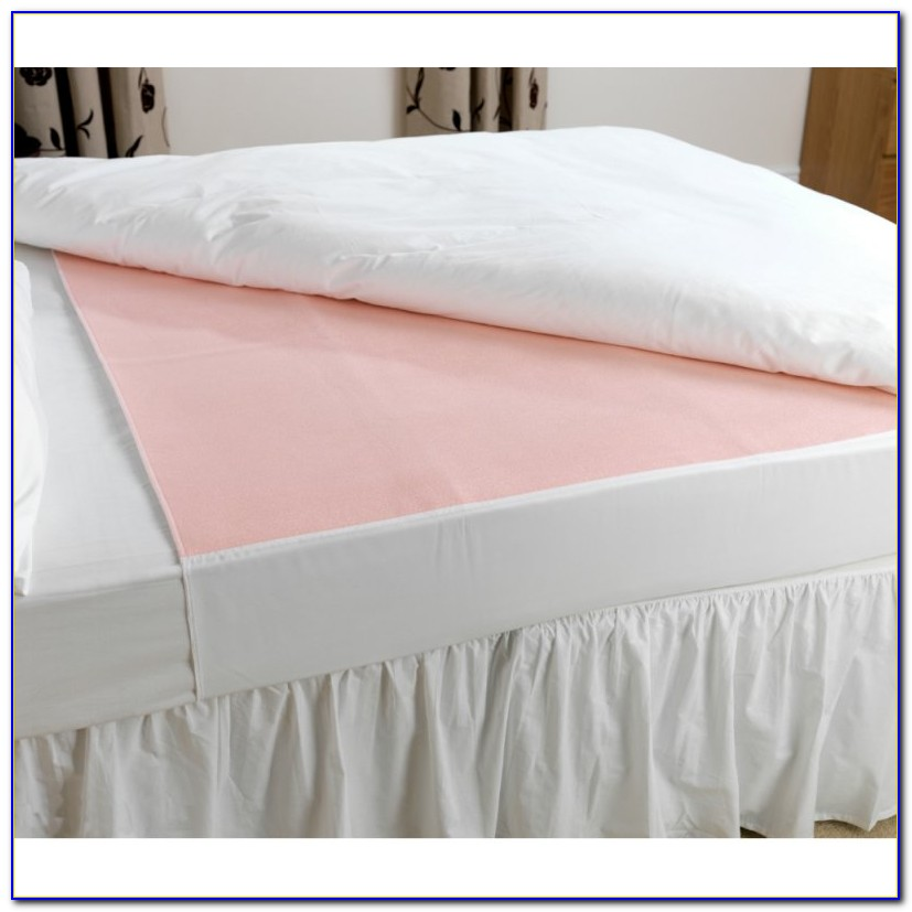 Washable Bed Pads With Wings