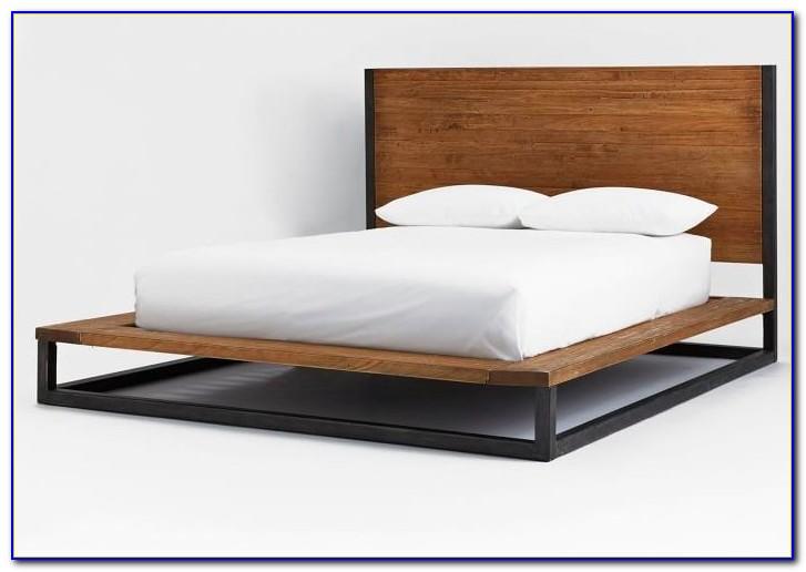 West Elm Platform Bed Chocolate