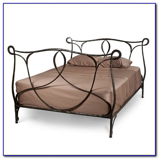 Wrought Iron Bed Frame Antique