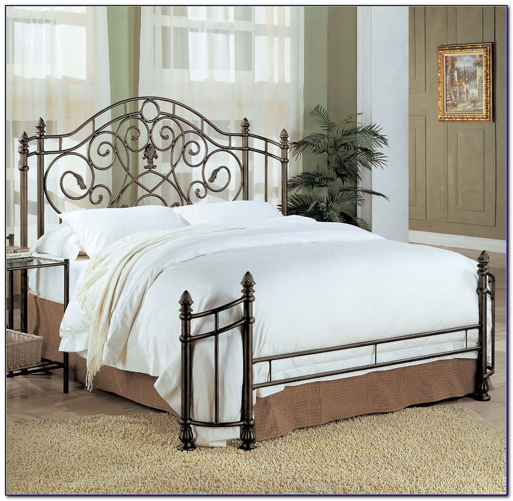Wrought Iron Bed Frame Parts