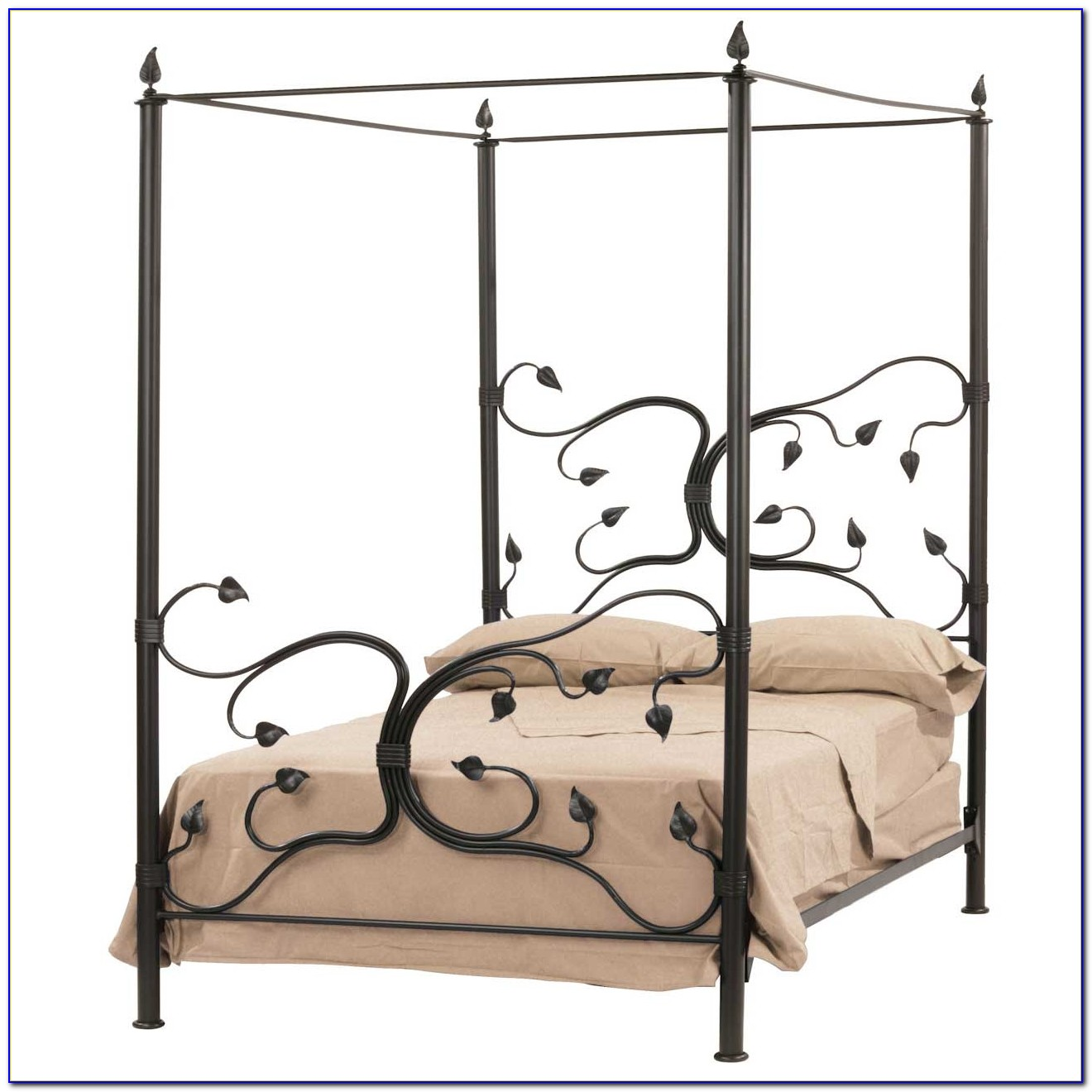 Wrought Iron Bed Frame Vintage
