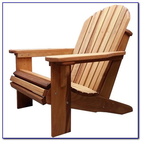 Adirondack Chair Kit Cedar