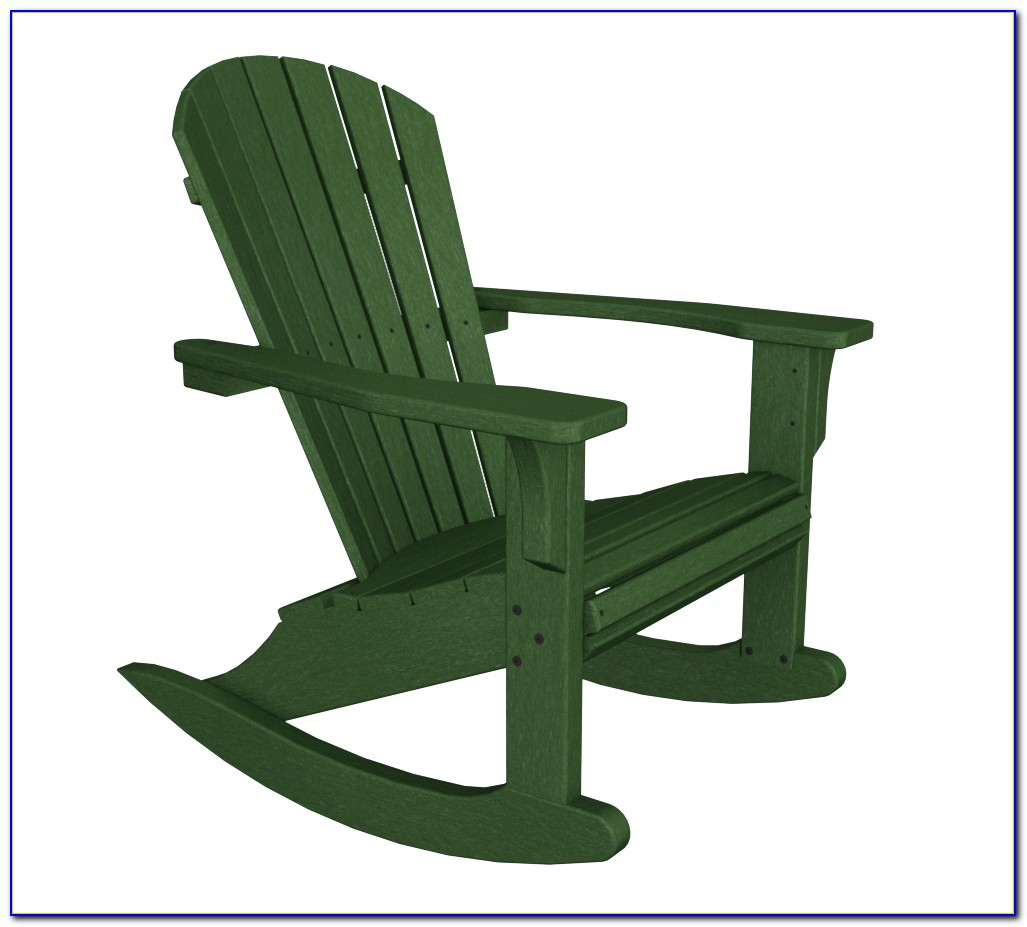 Adirondack Rocking Chair Polywood