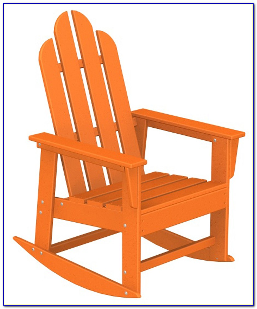 Adirondack Rocking Chairs Outdoor