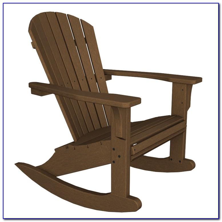 Adirondack Rocking Chairs Plastic