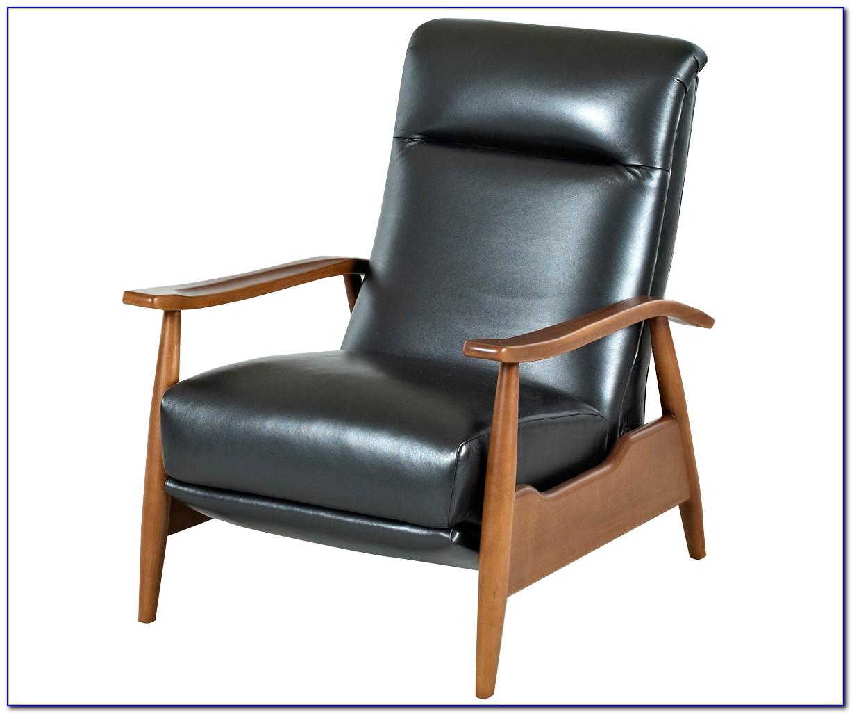 Alex Club Chair Recliner With Nailhead