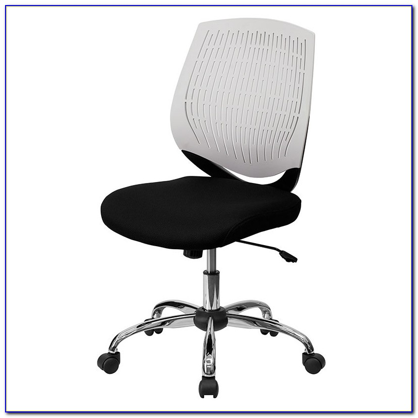 Armless Office Chairs Leather