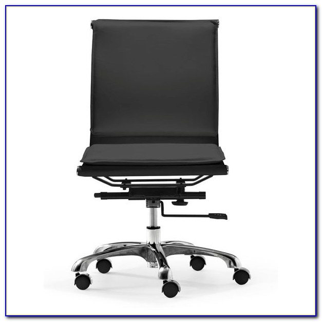 Armless Office Chairs With Lumbar Support