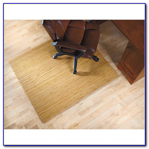 Bamboo Chair Mat For High Pile Carpet