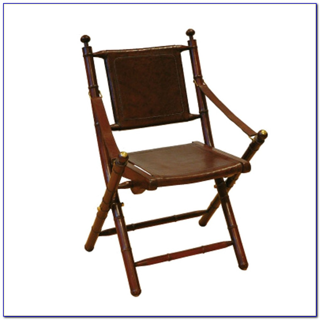 Bamboo Folding Chairs Set Of 2