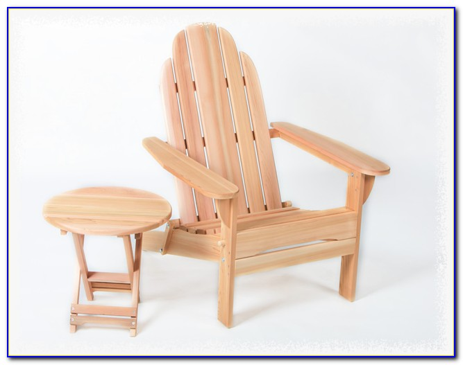 Cedar Adirondack Chairs Finish