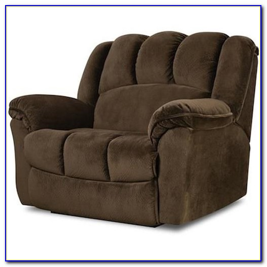 Chair And A Half Recliner Glider