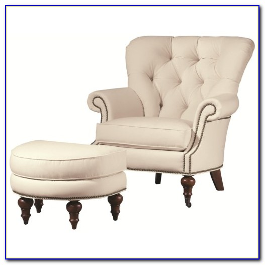 Chair And Ottoman Set For Nursery