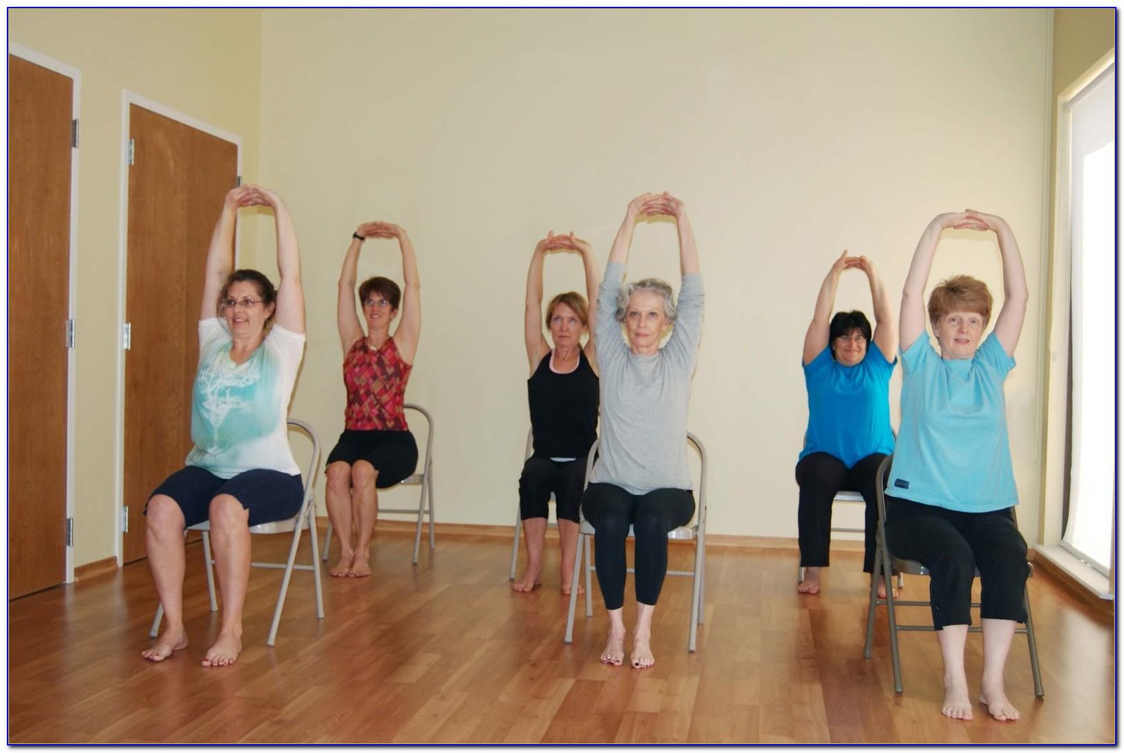 Chair Yoga For Seniors Dvd