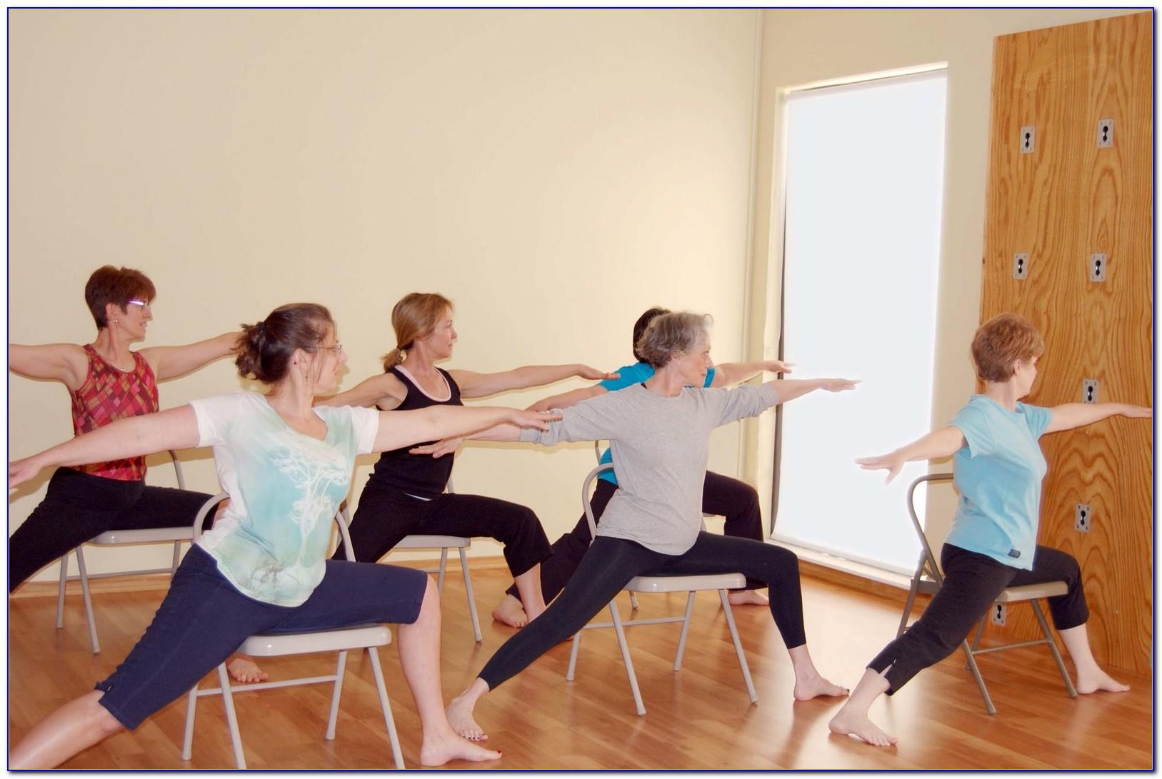 Chair Yoga For Seniors Handout