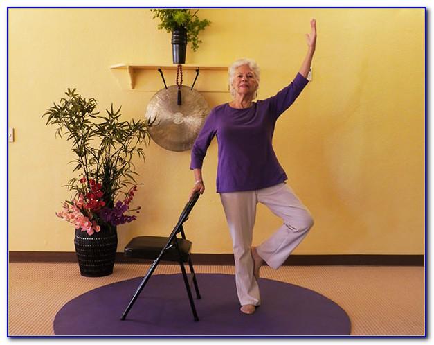 Chair Yoga For Seniors Poses
