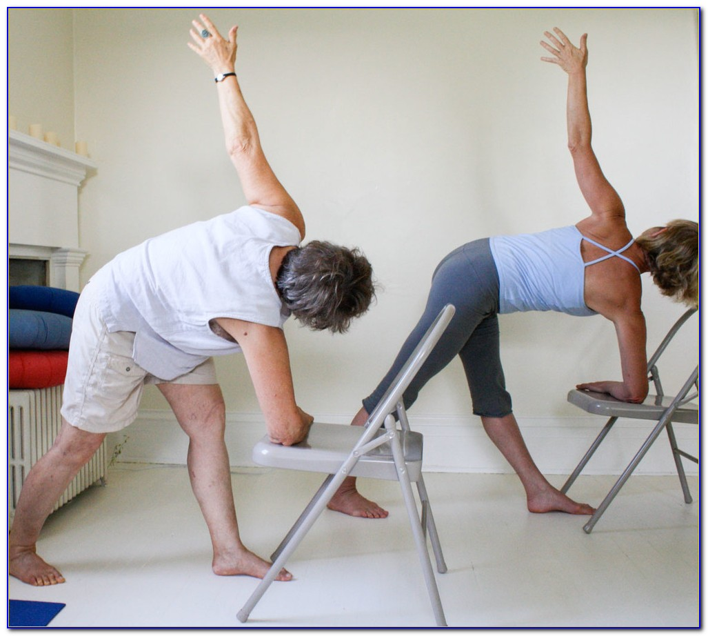 Chair Yoga For Seniors Sequence