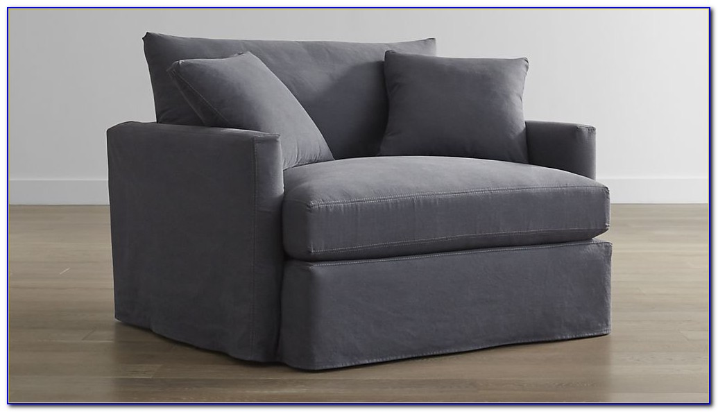 Charleston Chair And A Half Slipcover