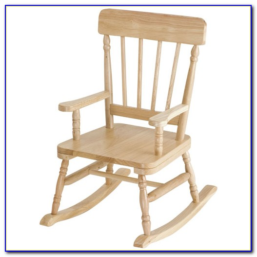 Childs Rocking Chair Plans