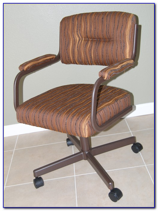 Chromcraft Kitchen Chairs With Casters