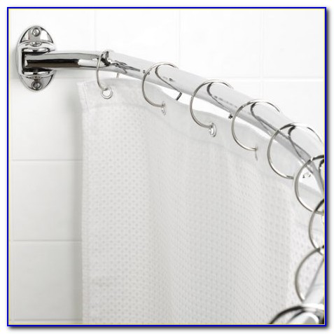 Curved Shower Curtain Rod Target