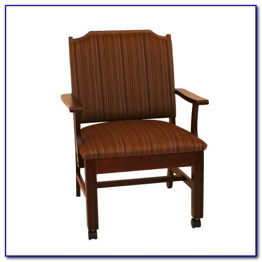 Dining Chairs With Casters Used