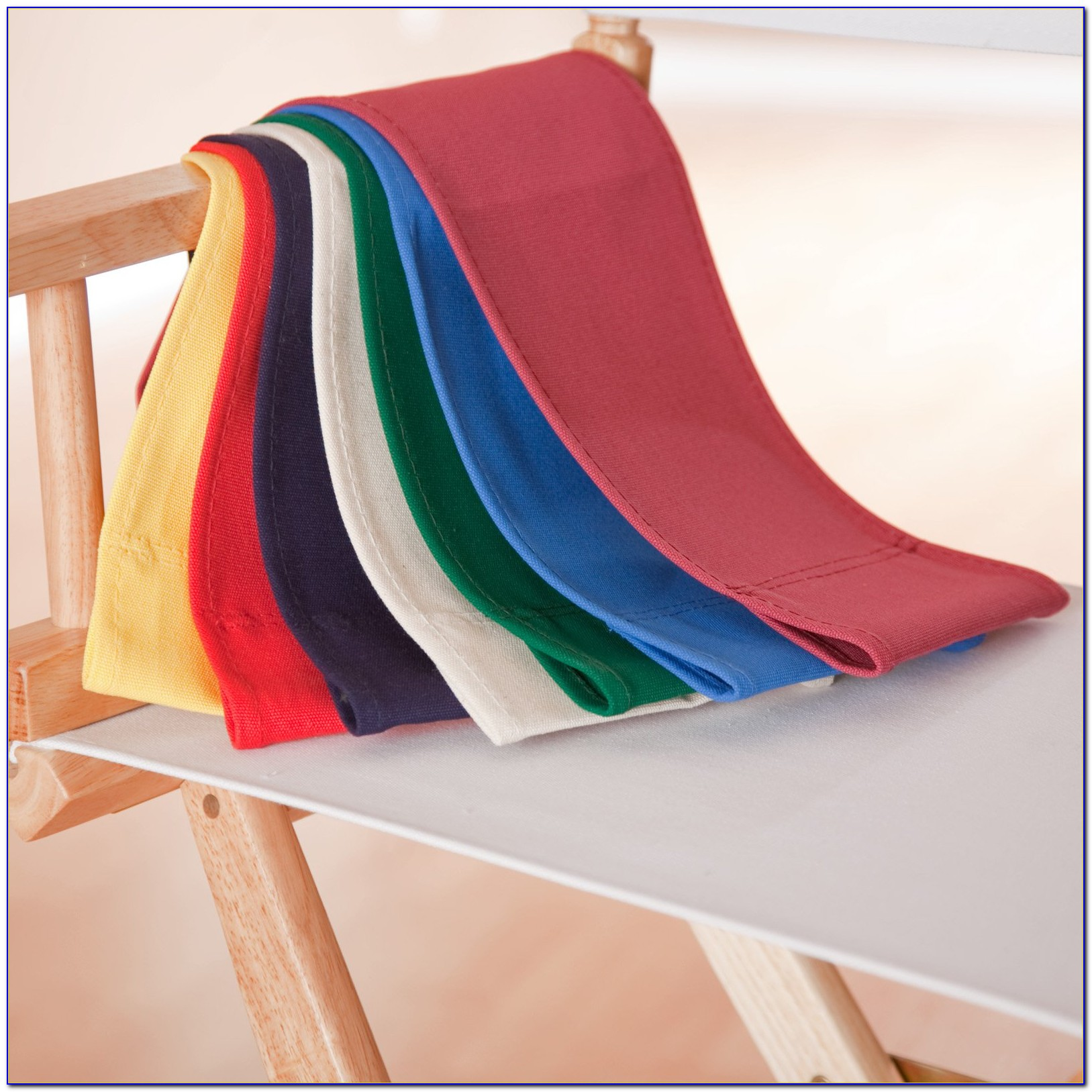 Directors Chair Covers Round Stick