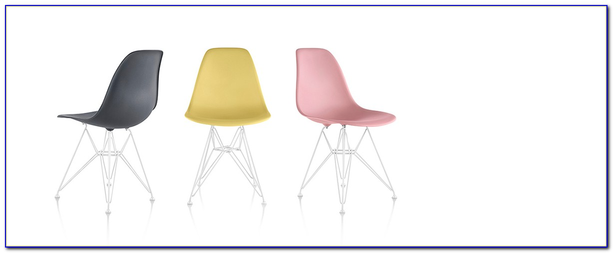Eames Molded Plastic Chair Dwr
