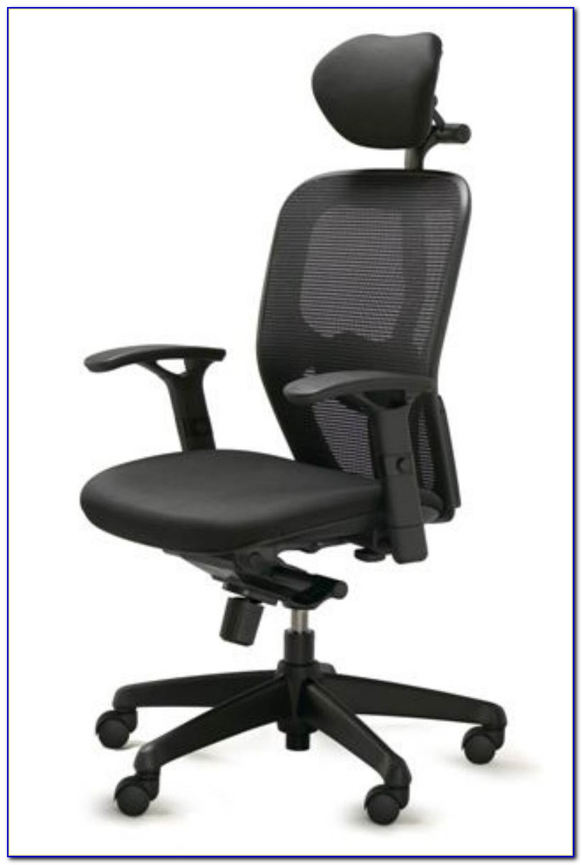 Ergonomic Desk Chair No Wheels