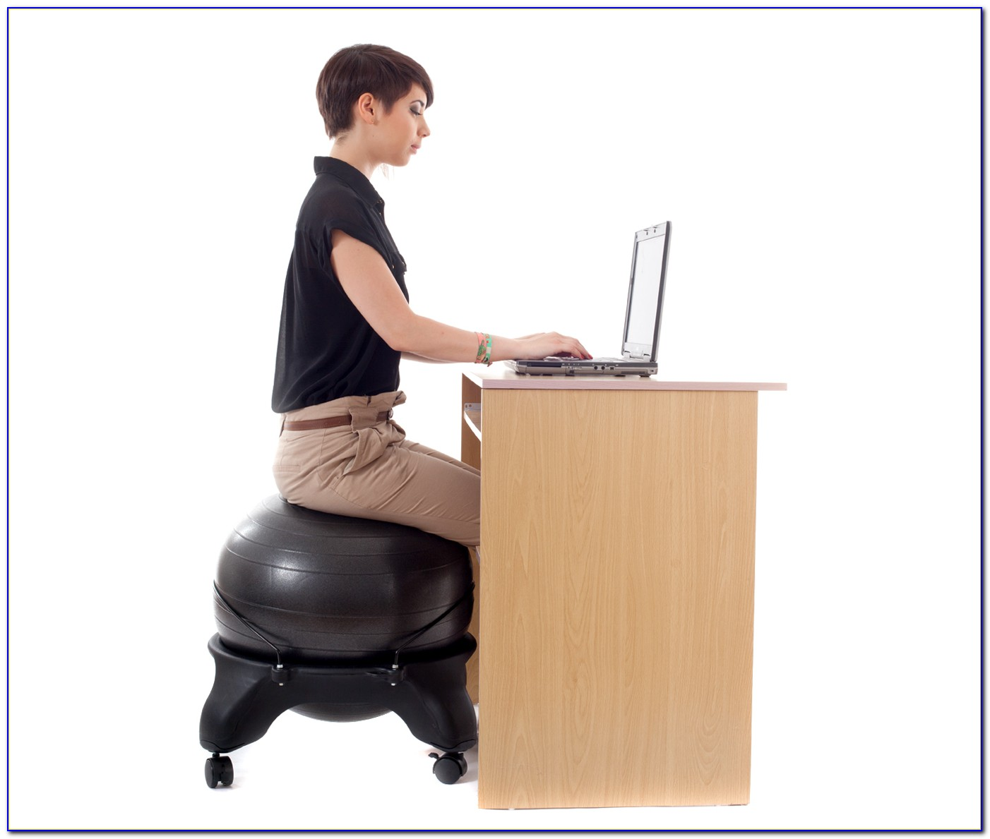 Exercise Ball Office Chair Size