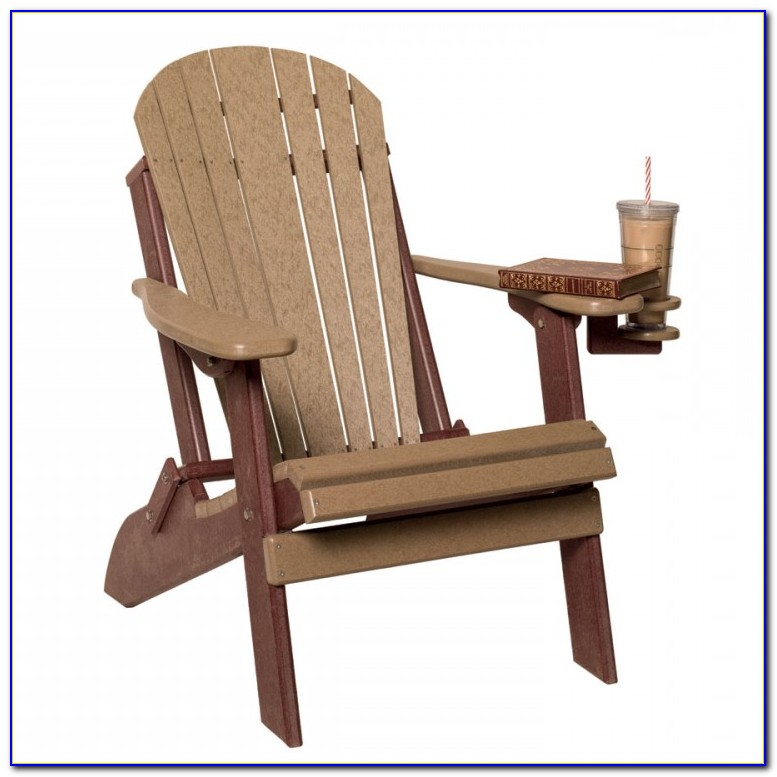 Folding Adirondack Chair White