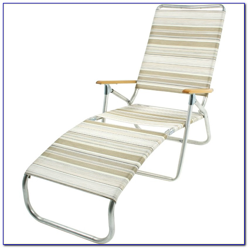 Folding Beach Lounge Chair Canada