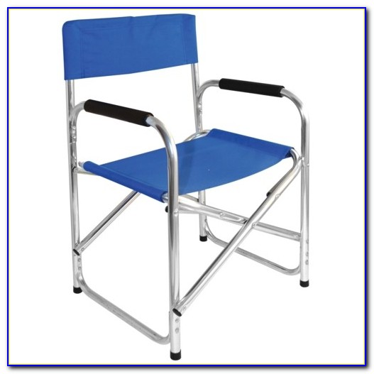 Folding Directors Chair Aluminum