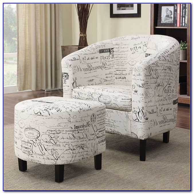 French Script Chair Covers