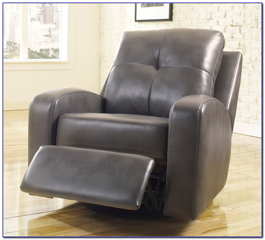 Glider Recliner Chair Leather