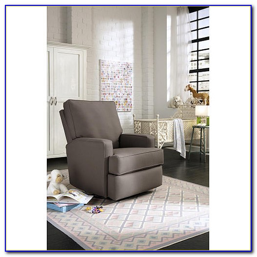Glider Recliner Chair With Ottoman