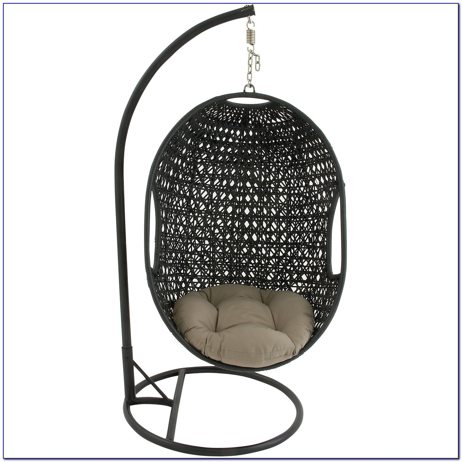 Hanging Wicker Chair Without Stand