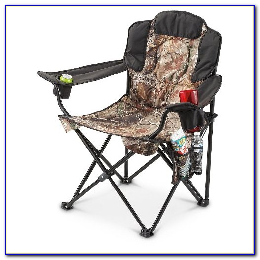 Heavy Duty Camping Chair With Table