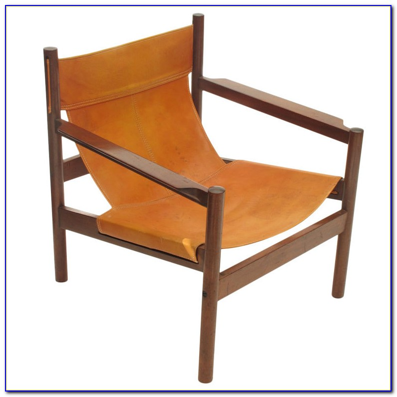 Leather Sling Chair Diy
